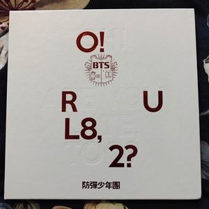 BTS' FIRST EXTENDED PLAY O!RUL8,2?